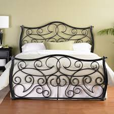 Wesley Allen King Size Headboards by Indus Iron Bed By Wesley Allen Humble Abode