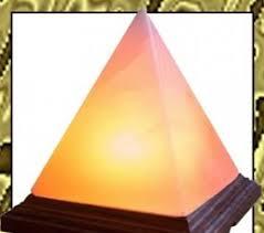 Himalayan Salt Lamp Pyramid by Himalayan Rock Crystal Salt Lamps With A Pyramid Shape Unique