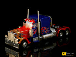 100 Optimus Prime Truck Model Review Of RA24 Buster Japanese Exclusive