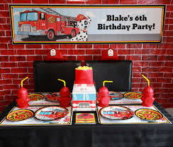 Fire Truck / Firefighter Birthday Party Ideas | Photo 9 Of 17 ... Ethans Fireman Fourth Birthday Party Play And Learn Every Day A Vintage Firetruck Anders Ruff Custom Designs Llc Ideas Thomas 2nd The Big 4 Sam Doubtful Mum Firefighter Oh My Omiyage Fire Truck Cs Rustic Refighte Parties Museum Decorations Journey Of Parenthood Charming At In A Box