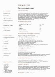 Generic Resume Objective Format Examples 2018
