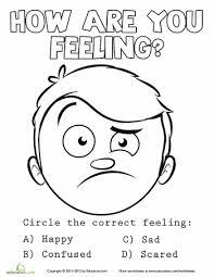 Emotions Coloring Sheet 5