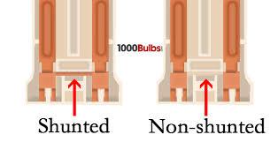shunted vs non shunted lholders 1000bulbs com blog