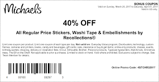 Coupons At Michaels Exp 4/1 | Michael's Craft Store Coupons ... Hobby Lobby 40 Off Printable Coupon Or Via Mobile Phone Tips From A Former Employee Save Nearly Half Off W Code Lobby Coupons Sept 2018 Santa Deals Cork 5 Best Websites Online In Store 50 Coupons And Codes Up To Dec19 Bettys Promo Code Free Delivery Syracuse Coupon Book 2019 Shop Senseo Pod Milehlobbycom Vegan Morning Star At Michaels Exp 41 Craft Store