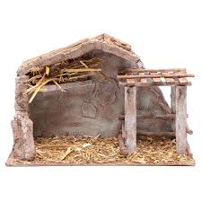 Stable With Barn And Animal Pen 22,5x3518,5 Cm | Online Sales On ... Was Jesus Really Born In A Stable Nativity Scene Pictures Hut With Ladder And Barn Online Sales On Holyartcom Scenes Nativity Sets Manger Display Yonderstar Handmade Wooden Opas Scene Christmas Set Outdoor Manger Family Wooden Setting House Red Roof Trough 2235x18 Cm For Vintage Wood Creche Religious Amazoncom Fontani 5 54628 Stable Fountain 28x42x18cm Fireplace 350x24 Bungalow Like Neapolitan 237x29cm