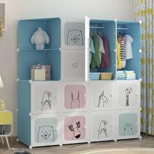 moderne einfache kinder kleiderschrank montage baby schrank schlafzimmer möbel tragbaren schrank moderne baby möbel
