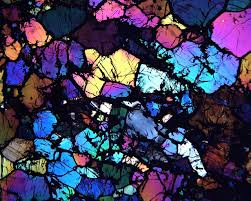 Beautiful meteorites hold clues to solar system s violent start