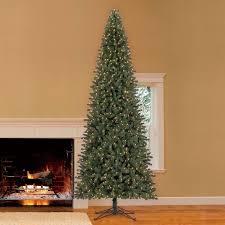 Downswept Douglas Fir Artificial Christmas Tree by Amazon Com Led Pre Lit Artificial Fir 12 U0027 Slim Christmas Tree