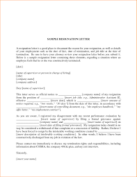 Resignation Letter Format Pdf In Hindi Best Job Resignation Letter