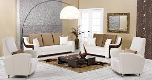 Unique And Creative Design White Sofa Standing Lamp For Bright Color Living Room Ideas