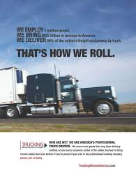 100 How Trucking Moves America Forward Touts 2016 Gains