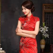 popular cheongsam dress red buy cheap cheongsam dress red lots