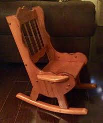 Antique Rocking Chair Up For Bids At