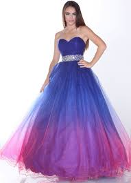 blue and purple ball gowns dress images