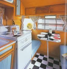 Vintage Camper Interior Designs
