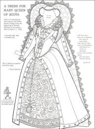 Queen Elizabeth 1 Colouring Pictures Pages