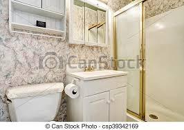 toilette badezimmer klassisch kabinett amerikanische