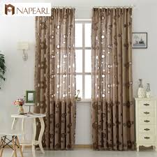 Modern Window Curtains For Living Room by Floral Curtain Fabric Promotion Shop For Promotional Floral