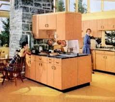Fifties Kitchen Steel Cabinets