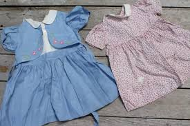 Lot Of 50s 60s Vintage Clothes For Little Girls