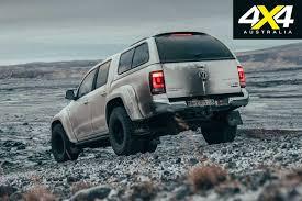 100 Volkswagen Trucks Amarok V6 Gets The Arctic Treatment