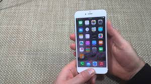 Apple iPhone 6 & 6 Plus How to Take or Capture a Screen Shot