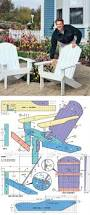 Folding Adirondack Chair Woodworking Plans by Best 25 Traditional Adirondack Chairs Ideas On Pinterest