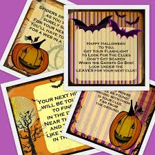 Halloween Scavenger Hunt Clues Indoor by Printable Halloween Scavenger Hunt 11 Riddles And