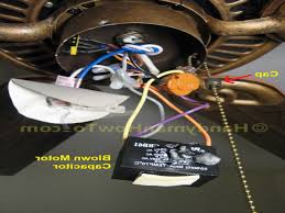 Hunter Fairhaven Ceiling Fan 53032 by Hampton Bay Ceiling Fans How To Replace A Fan Motor Capacitor