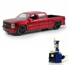 100 Chevy Silverado Toy Truck Diecast Car Tire Station Package 2014 Pickup