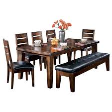 Table 5 Side Chairs Bench By Ashley Furniture