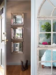 Smart Use Of Mirrors To Make The Entry Way Look Feel A Bit Larger Entryway