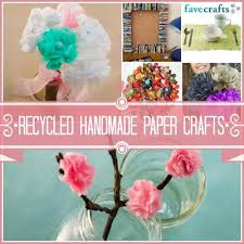 33 Recycled Handmade Paper Crafts