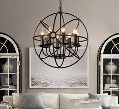 großhandel vintage industrie kronleuchter beleuchtung kugel retro kronleuchter hängende leuchte für wohnzimmer esszimmer restaurant dekor llfa