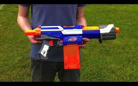 nerf n strike elite alpha trooper cs 12 range test stock