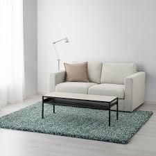 vindum teppich langflor blaugrün 170x230 cm ikea österreich