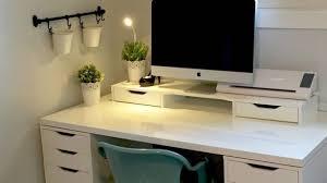 Ikea L Shaped Desk by The Most L Shaped Desk Ikea Hack Home Decor Ikea Best L Shaped