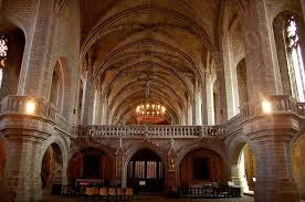 abbaye de la chaise dieu abbaye de la chaise dieu le jubé haute loire auvergne