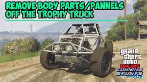 Gta 5 Online - How To Remove All Body Parts/Panels Off Of The Trophy ... B1ckbuhs Solid Axle Trophy Truck Build Rcshortcourse Wip Beta Released Gavril D15 Mod Beamng Wikipedia Baja 1000 An Allnew Taking On The Peninsula Metal Concepts Losi Rey Upper Aarms Front 949 Designs Ross Racing Rccrawler Axial Score Trophy Truck 110 Instruction Manual Parts List Exploded Trd Off Road Classifieds Geiser