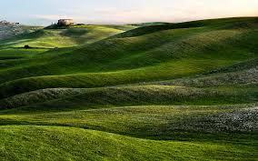 Beautiful Tuscany Landscape Wallpaper