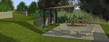 plan de jardin 3d création conception et aménagement de votre