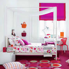 Zebra Decor For Bedroom by Bedroom Simple And Neat Interior With Pink Comforter And Zebra