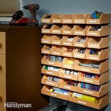 garage shelving plans hardware organizer garage shelving