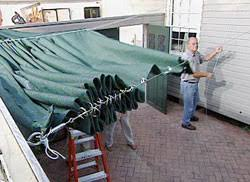 Diy Roll Up Patio Shades by How To Build A Retractable Awning U2022 Ron Hazelton Online This Is