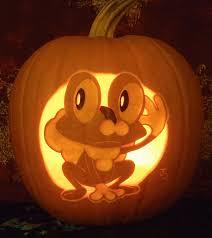 Pokemon Pumpkin Patterns by Froakie Pumpkin Light Version By Johwee On Deviantart