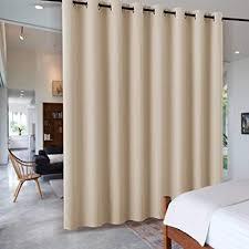 pony größe vorhänge wohnzimmer trennwand ösenvorhang raumtrenner für hotel klinik umkleideraum schiebegardinen blickdicht 1 stück h 274