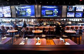 Best View - So Many Screens! | Upscalse Sports Pub | Pinterest ... 20 Sports Bars With Great Food In Las Vegas Top Bar In La Best Vodka A Banister The Intertional Is Located By The Main Lobby Tap At Mgm Grand Detroit Lagassescelebrity Chef Restaurasmontecarluo Hotels Macao Where To Watch Super Bowl Li Its Cocktail Hour To Go High Race Book Opening Caesars Palace Youtube With Casinoswhere Game And Gamble Sin Citytime Out Beer Park Budweiser Paris Michael Minas Pub 1842