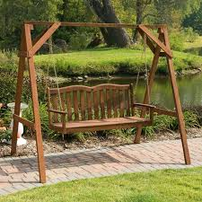 Porch Swing Stand Plans — Jbeedesigns Outdoor How to Build A