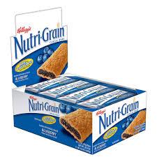 00038000908194 Nutri GrainR Cereal Bar Blueberry For Schools 155 Oz 6