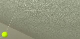 Ceiling Material For Garage by Diy Garage Tennis Ball Parking Gauge Today U0027s Homeowner